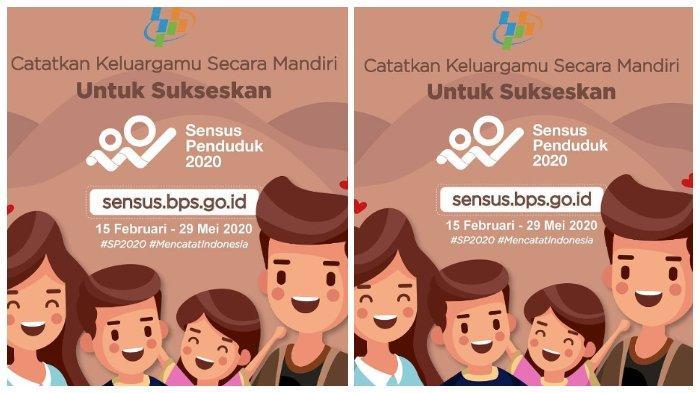 Login sensus.bps.go.id Sebelum 29 Mei 2020, Isi Data Sensus Penduduk Cuma 5 Menit, Berikut Caranya