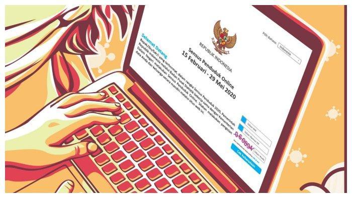 Login sensus.bps.go.id, Cara Isi Sensus Penduduk Online 2020, Sisa 8 Hari Lagi, Siapkan KK & KTP.