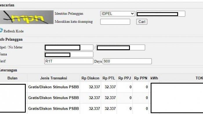 Login Stimulus Pln Co Id Cara Klaim Token Listrik Gratis Pln Bulan Januari 2021 Tribunnews Com Mobile