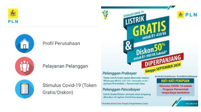 Dengan mengakses laman resmi PLN atau menghubungi via WhatsApp sejumlah pelanggan bisa mendapatkan stimulus Covid-19.