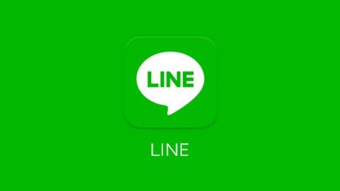 Logo aplikasi LINE.