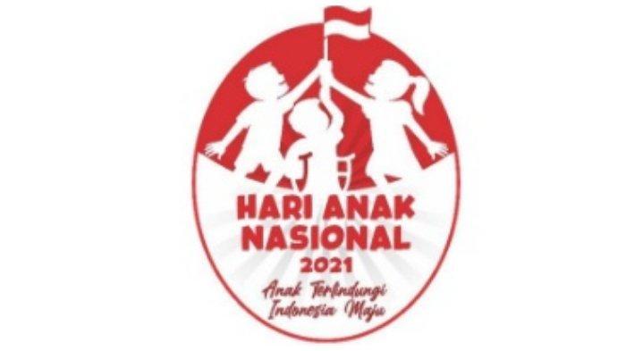 Logo Hari Anak Nasional 2021.