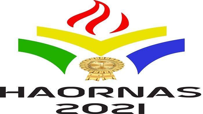 Logo Hari Olahraga Nasional 9 September 2021.