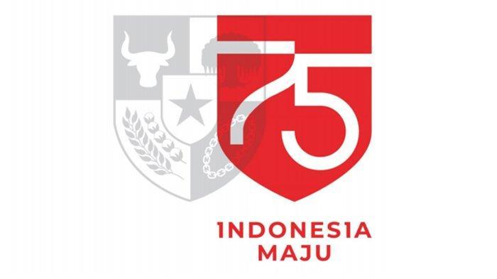 Logo HUT Kemerdekaan RI ke-75