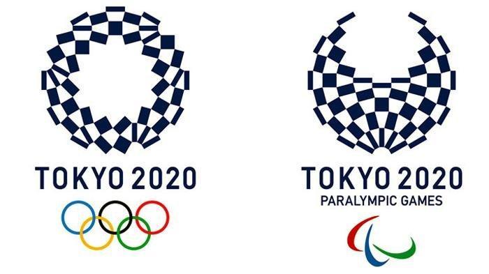Logo Olimpiade Jepang 2020 dan Paralimpik 2020 yang diundur ke tanggal 24 Juli 2021.