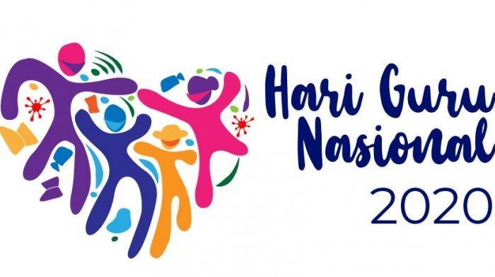 Logo Peringatan Hari Guru Nasional 2020.