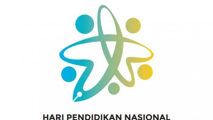 Logo peringatan Hari Pendidikan Nasional 2021.