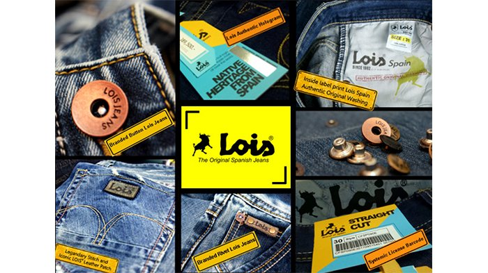 Cara Membedakan Celana Lois Jeans Asli Dan Palsu Tribunnews Com Mobile