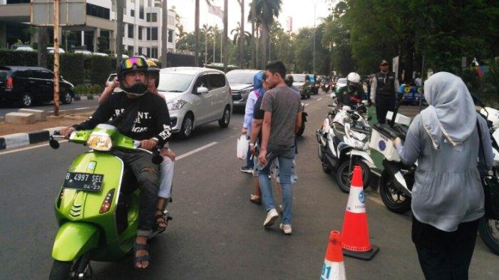 Boks Tiket di Gerbang V Pindah, Jalan Pintu 1 Senayan Kembali Dibuka