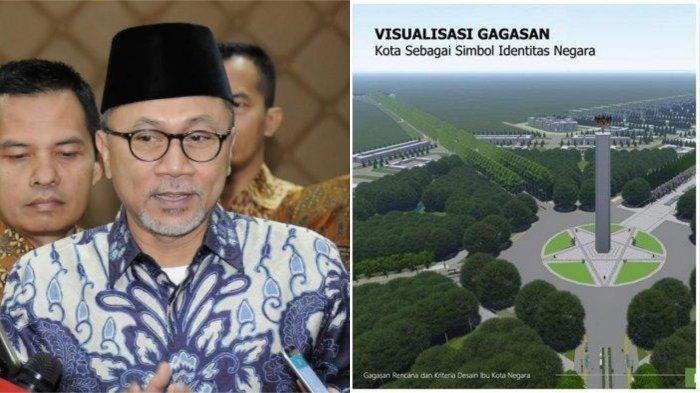 Lokasi Ibu Kota Baru Diumumkan Jokowi Siang Ini, Zulkifli Hasan Minta Jokowi Fokus ke Papua Dulu