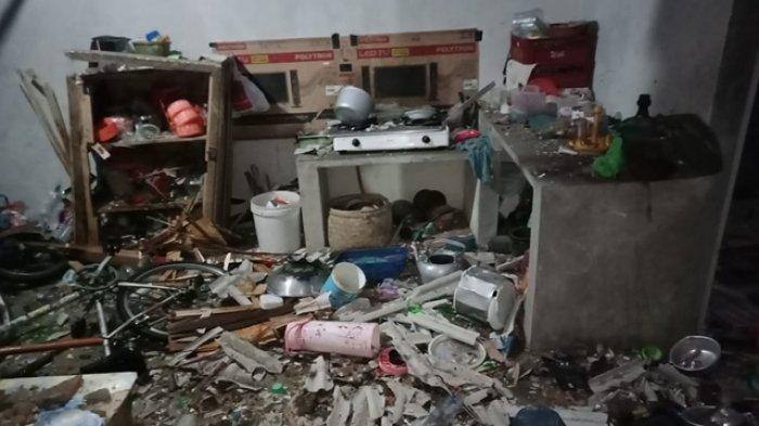 Petasan yang Diisi Obat Mercon Tiba-tiba Meledak, Munawir Kehilangan Jari Tangan, Rumahnya Rusak