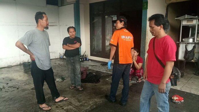 Gas 3 Kg Bocor Disambar Api, Pedagang Bakso Luka