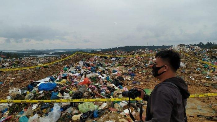 Detik-detik Penemuan Mayat Pria di TPA Punggur Batam, Terlihat saat Alat Berat Ratakan Sampah