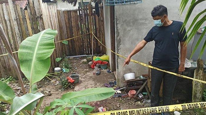 Sebelum Tewas Bersimbah Darah di Halaman Rumah, Yanto Masih Sempat Panggil 'Mama, Mama'