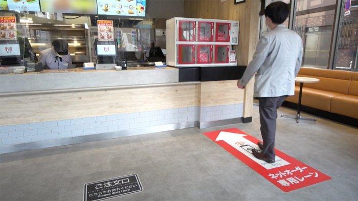 KFC Jepang Siapkan Loker Tanpa Kontak, Pembeli Pesan Lewat Telepon dan Ambil Makanan di Loker