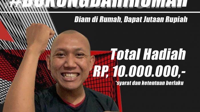 Piala Menpora 2021, Dukung dari Rumah, Suporter Bisa Dapat Hadiah Jutaan
