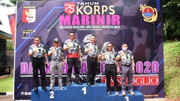 Mayor Jenderal TNI (Mar) Suhartono Buka Lomba Menembak Dankormar Cup Tahun 2020