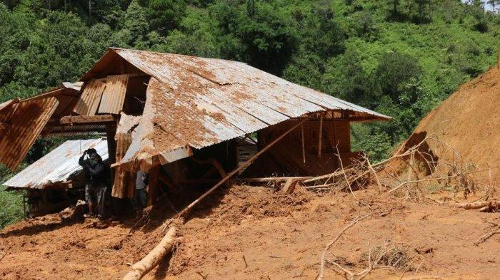 Banjir Bandang dan Longsor di Batang Uru Mamasa, Ratusan Warga Mengungsi