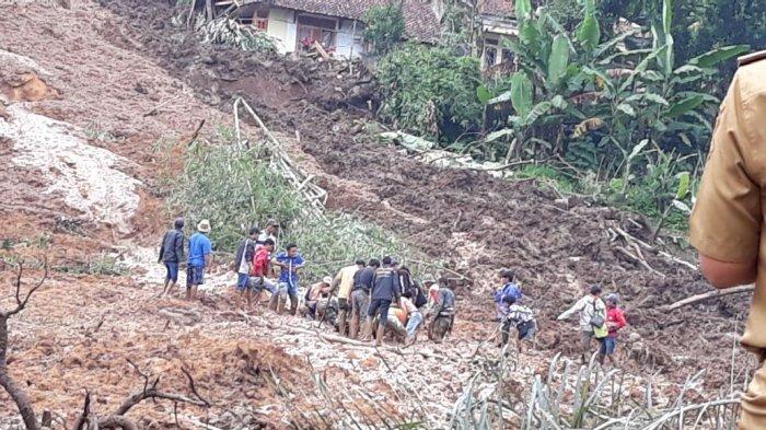Longsor di Bandung Barat, Seorang Ditemukan Tewas