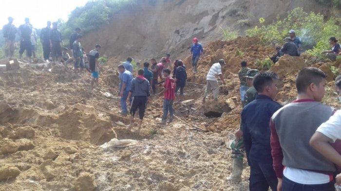 Korban Tewas Akibat Longsor di Toba Samosir Jadi 8 Orang, Ini Daftar Namanya