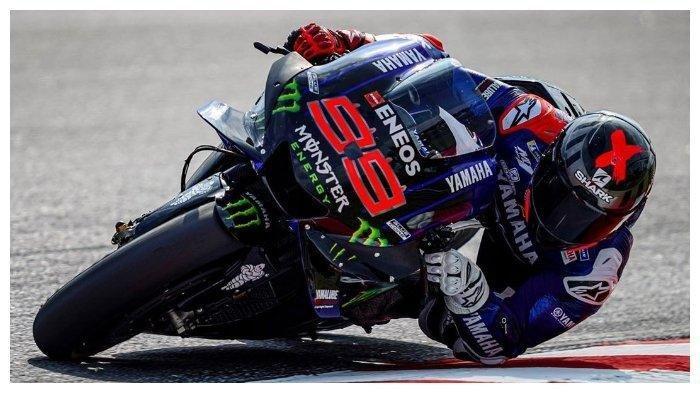 Jorge Lorenzo menjadi test rider Yamaha saat tes pramusim MotoGP di Sirkuit Sepang.