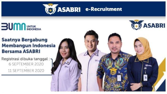14 Lowongan Kerja BUMN PT ASABRI (Persero), Dibuka hingga 11 September 2020, Simak Persyaratannya