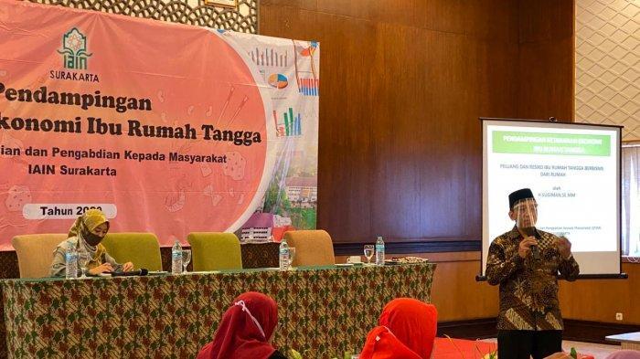 LP2M IAIN Surakarta mengadakan kegiatan Pendampingan Ketahanan Ekonomi Ibu Rumah Tangga 2