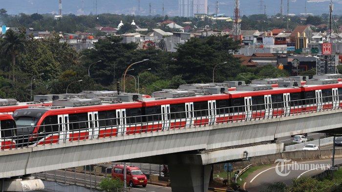 Ini Proyek LRT Jabodebek yang Dibanggakan Jokowi