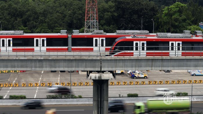 LRT Jabodebek Diproyeksikan Beroperasi Tahun Depan