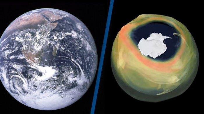 Lubang Lapisan Ozon di Antartika Tahun 2020 Catat Rekor Terbesar