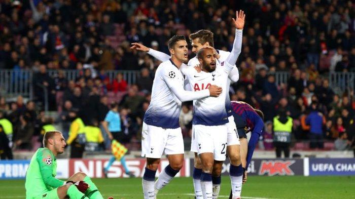 Live Streaming SCTV, Tottenham Hotspur vs RB Leipzig, Son Absen Lucas Moura Jadi Tumpuan Utama