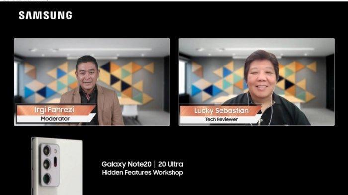 Intip FItur-fitur Tersembunyi di Samsung Galaxy Note20 Series untuk Maksimalkan Pekerjaan