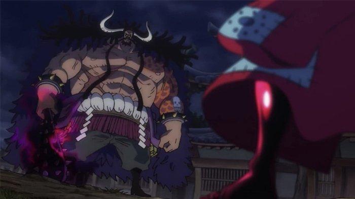 Luffy berhadapan dengan Kaido