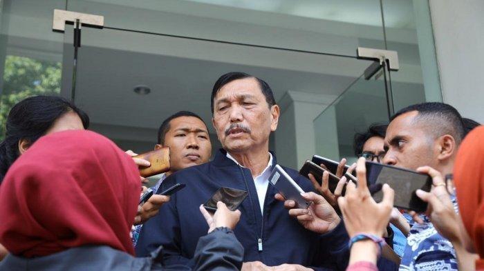 Luhut Gelar Open House Saat Natal Dihadiri Para Menteri Kabinet Indonesia Kerja Termasuk Prabowo