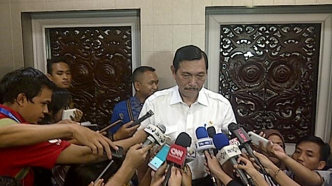 Menko Luhut Yakin Anies Setuju Reklamasi Dilanjutkan