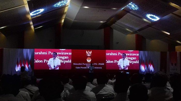 Luhut di Hadapan Purnawirawan TNI-Polri : Pemerintah Tak Pernah Bohong Tentang Capaiannya