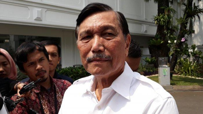 ?Menteri Koordinator Bidang Kemaritiman Luhut Binsar Panjaitan