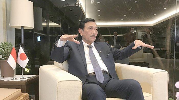 Luhut: NIA Dipastikan Capai 20 Miliar Dolar AS 2021, 4 Miliar USD Investasi Dari Satu Bank Jepang