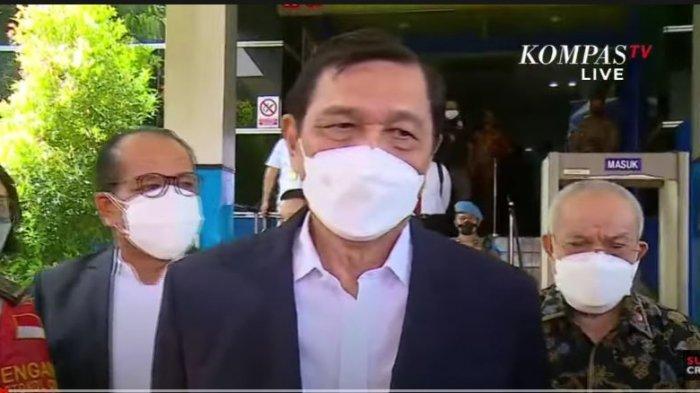 Tak segera minta maaf, Luhut resmi melaporkan Hariz Azhar dan Fathia Maulidiyanti ke Polda Metro Jaya atas pencemaran nama baik, Rabu (22/9/2021).