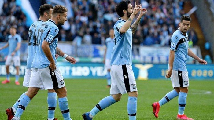 LIVE Streaming Lazio vs Club Brugge Liga Champions, Laga Final Bagi Biancocelesti
