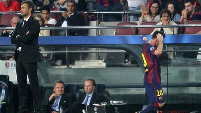 Ditanya Tentang Karier Messi, Luis Enrique: Saya Pelatih Bukan Peramal