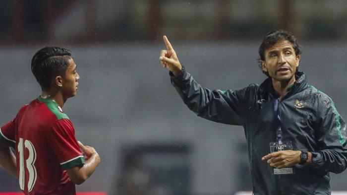 Timnas Senior Indonesia Kalah 0-1 dari Timnas U-23 Suriah, Hussein Afash Unggul 2-0 atas Luis Milla