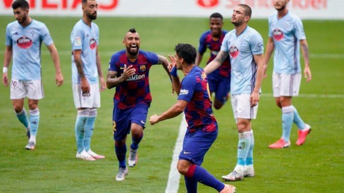 Video Highlights Barcelona Vs Espanyol: Laga Keras Berhias Satu Gol dan Dua Kartu Merah