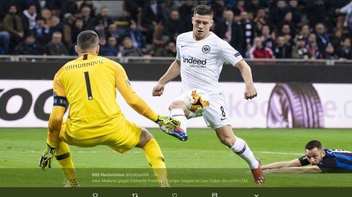 Diincar Barcelona, Luka Jovic Justru Sepakat Merapat ke Real Madrid