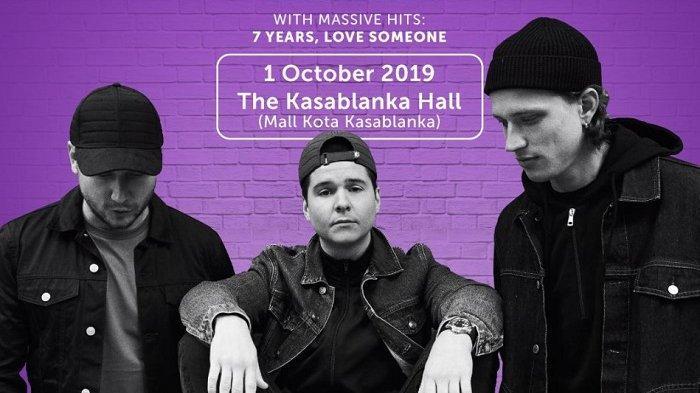Lukas Graham, band asal Denmark, konser di Indonesia pada 1 Oktober 2019.