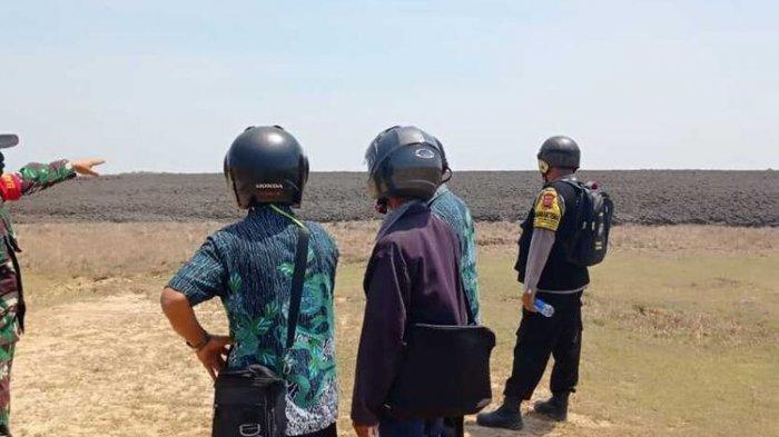 Upaya Pencarian Belasan Kerbau yang Terkubur Lumpur di Kesongo Blora Belum Bisa Dilakukan