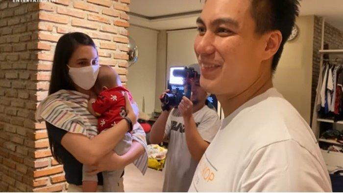Luna Maya gendong Kiano, pukul Baim Wong saat disinggung pria ini jadi suami