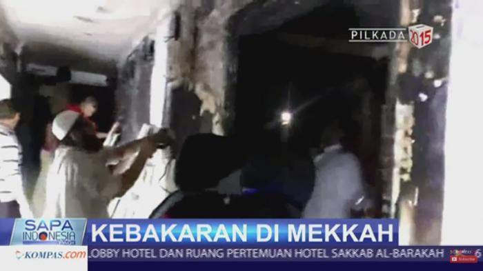 Keluarga di Tanah Air Cemas Kamar Jemaah Haji Asal Kediri Terbakar di Mekah