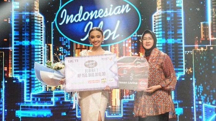 Lyodra Ginting Juara Indonesian Idol Season 10, Kalahkan Tiara Anugrah