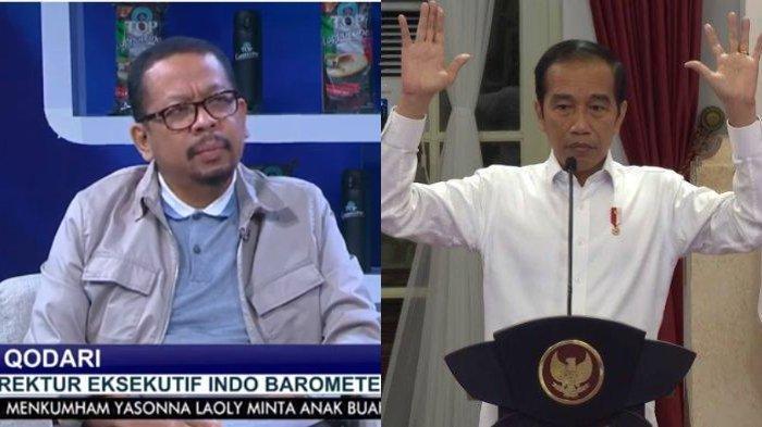 Qodari Klaim 80 Juta Penduduk Indonesia Setuju Jokowi Tiga Periode